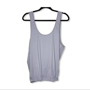 FABLETICS / gray Lucia 2-in-1 slouchy tank top